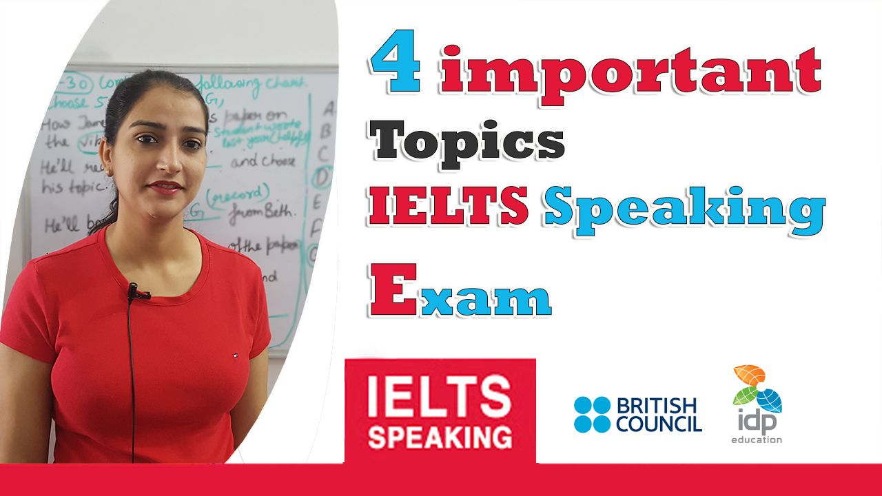4 important topics for ielts speaking Exam | 8 Band sample
