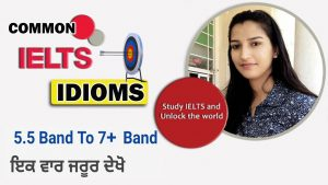 Useful Idioms for IELTS