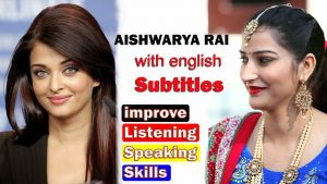 ENGLISH SPEECH | AISHWARYA RAI BACHCHAN: Bring a Smile englsih with roop