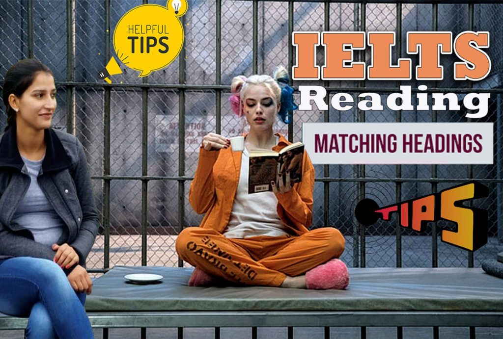 IELTS reading heading tips and tricks   IELTS Reading Hack   Matching Headings english with roop