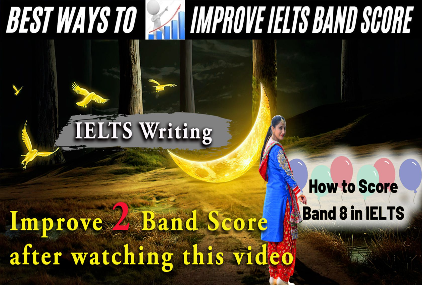 How to get 7 band in Ielts writing | How to improve your IELTS Writing